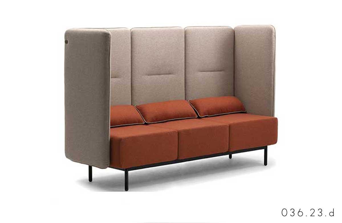divano Leyform around Adv arredamenti ufficio Torino