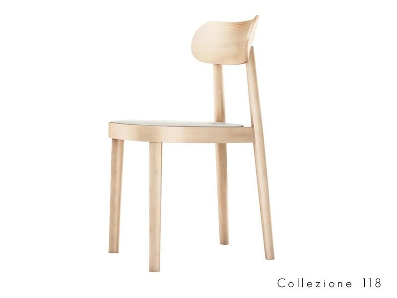 collezione_118 thonet seduta legno curvato design