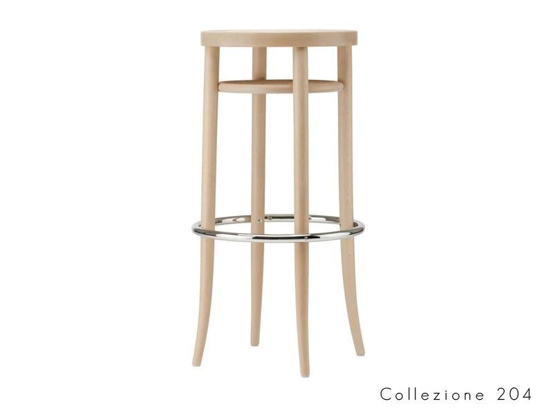 collezione_204 thonet sgabello design