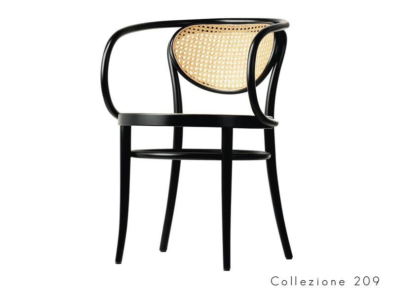 collezione_209 thonet seduta legno curvato design