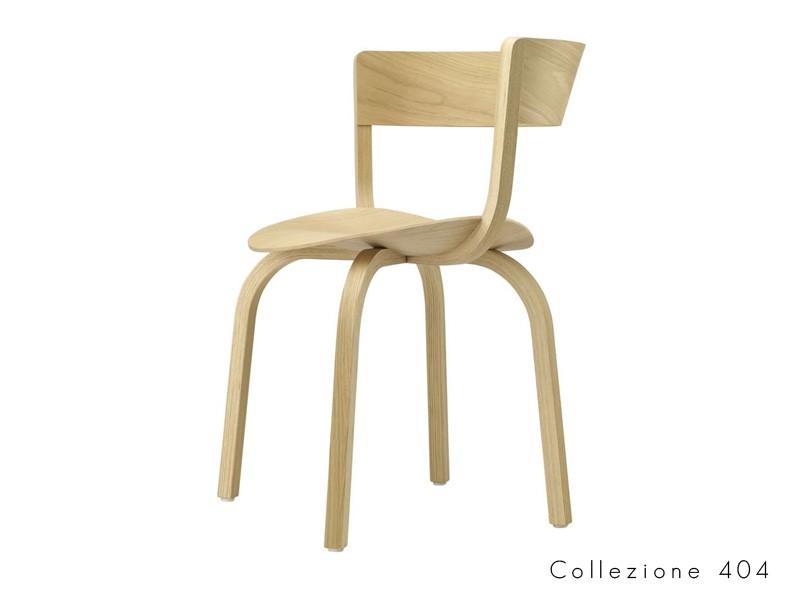collezione_404_h thonet seduta legno curvato design