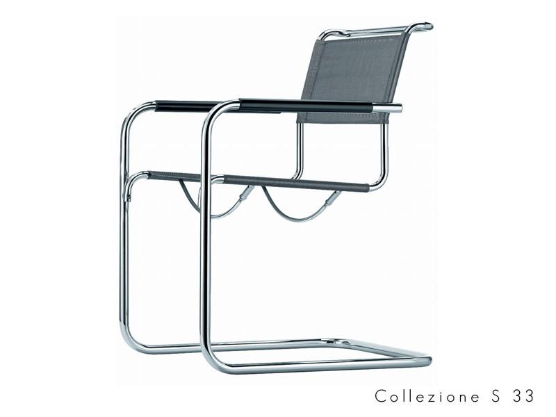 collezione_s_33 Thonet seduta tubolare chatilever design