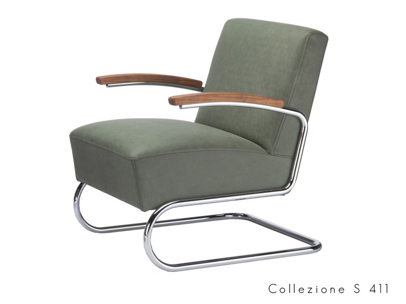 collezione_s_411 Thonet seduta tubolare chatilever design