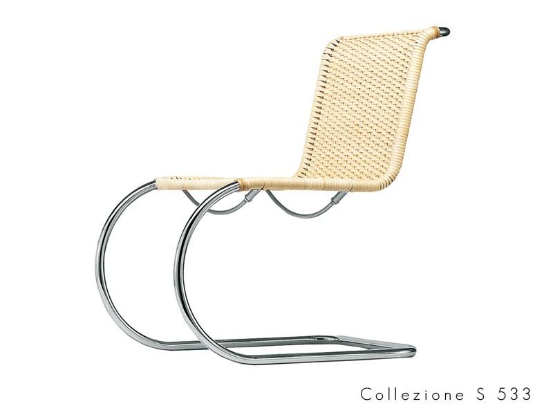 collezione_s_533 Thonet seduta tubolare chatilever design