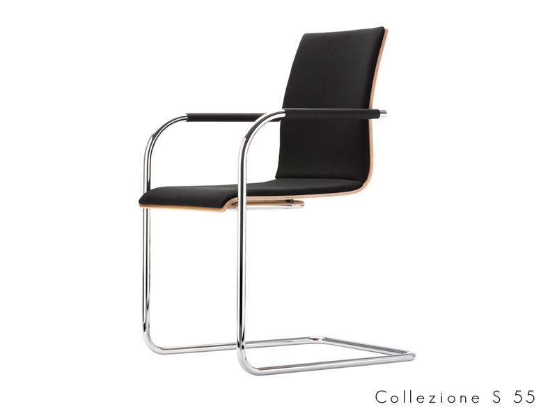 collezione_s_55 Thonet seduta tubolare chantilever design