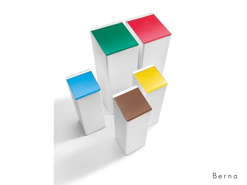 Made Design Berna raccolta differenziata cestini getta carta Adv arredamenti ufficio Torino