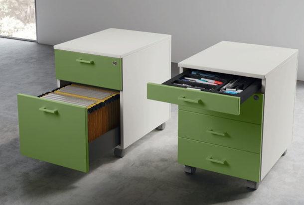 cassettiera evo Las Adv arredamenti ufficio Torino