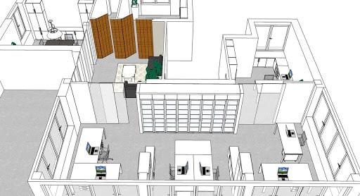 progettazione ufficio, progettare uffici